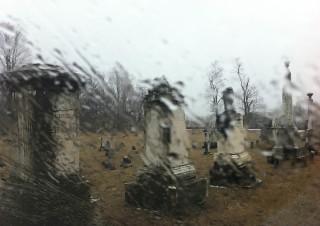 Rainy Cemetary