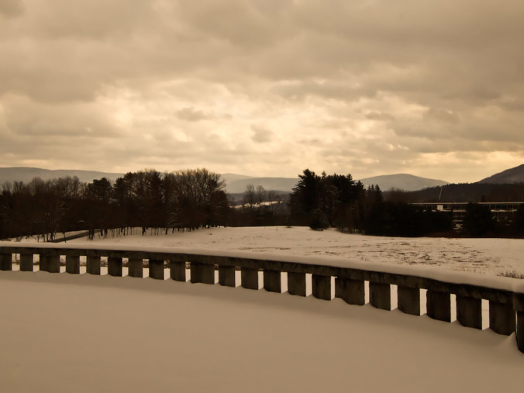 Copper Snow Sunrise